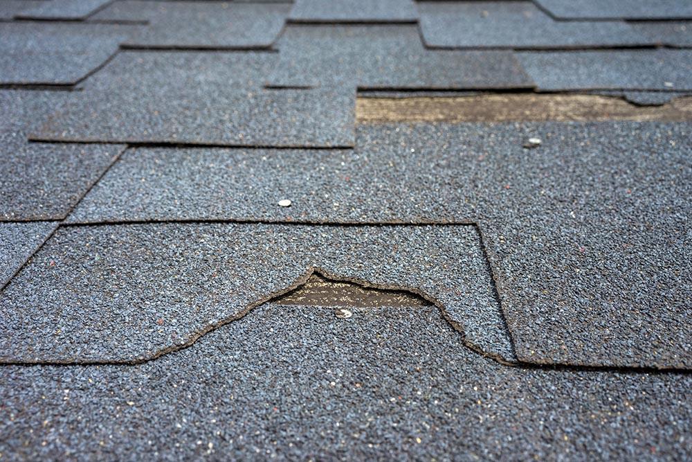roof damage causes kansas city
